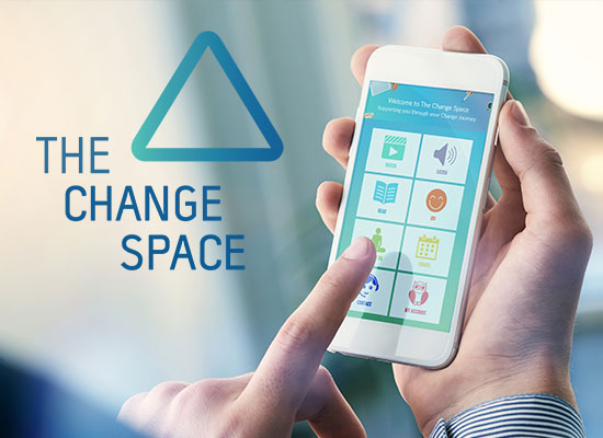 The Change Space logo