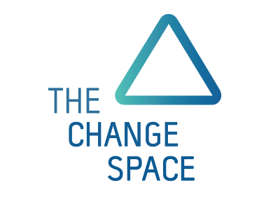 The Change Space banner